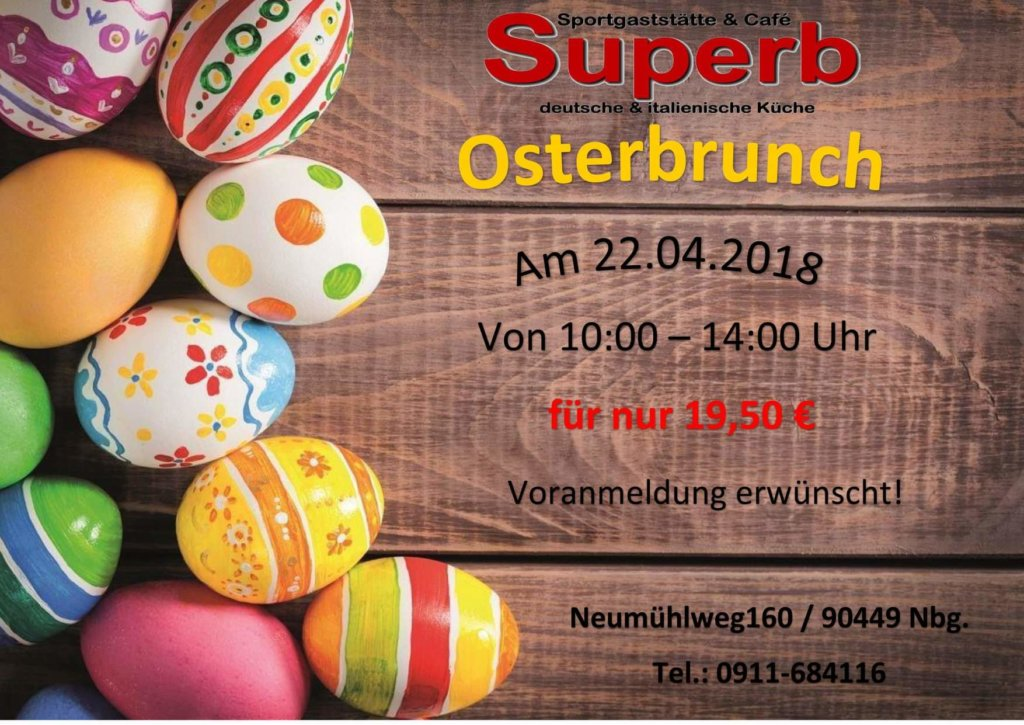 🐇🐇🐇 Osterbrunch 🐇🐇🐇