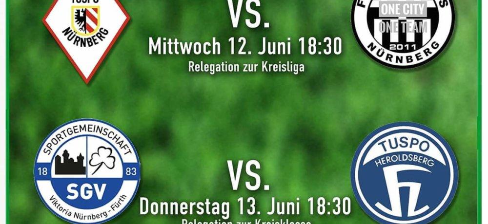 +++ Relegation 2019: Gebersdorfer Gastgeber +++