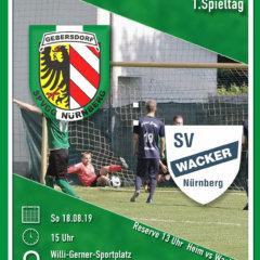 +++ Absteiger zum Auftakt: SpVgg trifft auf SV Wacker  +++