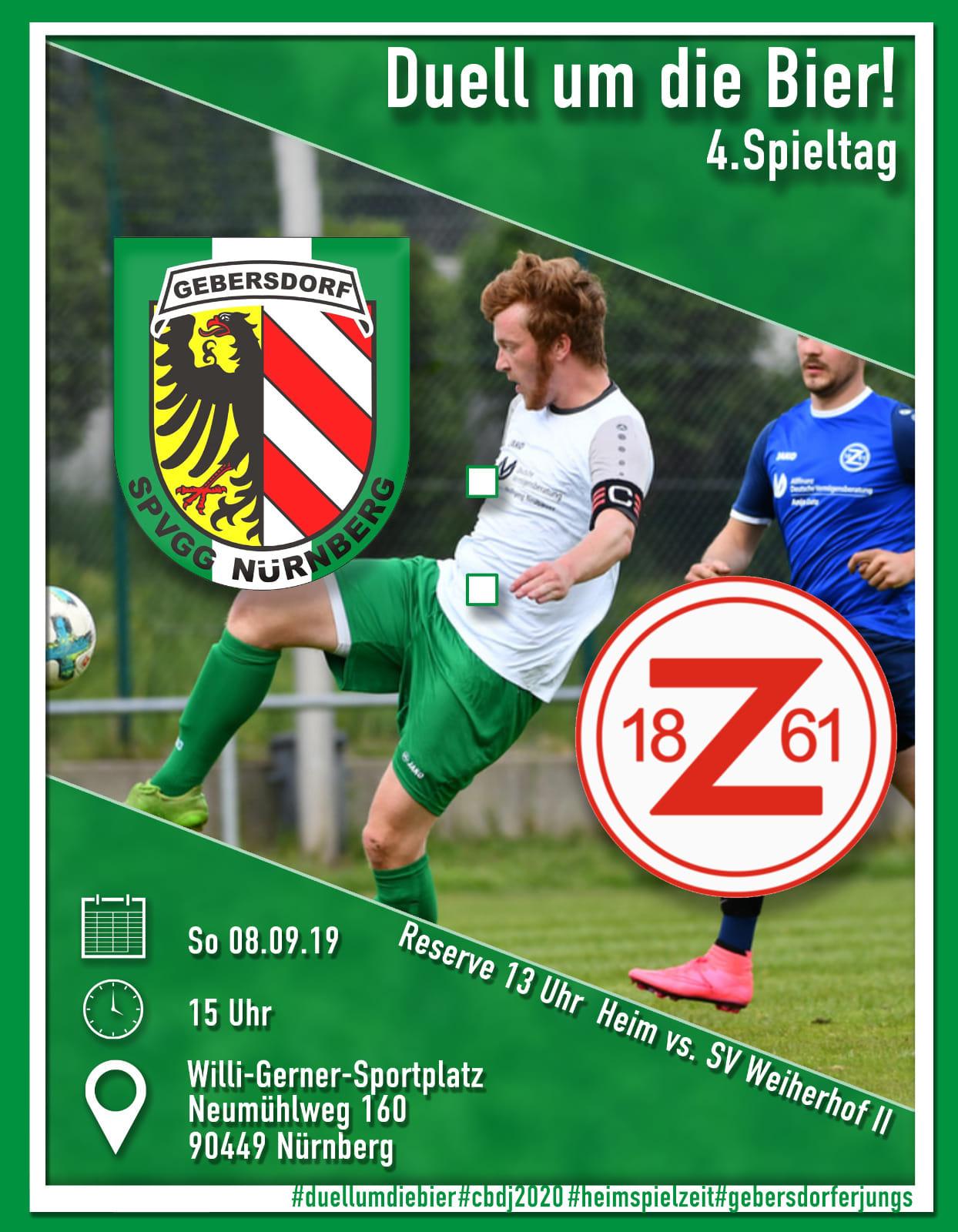 SpVgg Nürnberg – 1. Mannschaft vs TSV 1861 Zirndorf