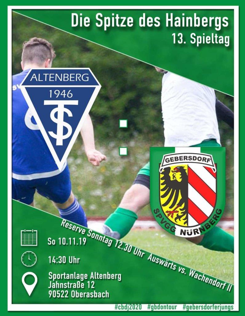 +++ Hainberg-Derby: SpVgg spielt beim Nachbarn vor! +++