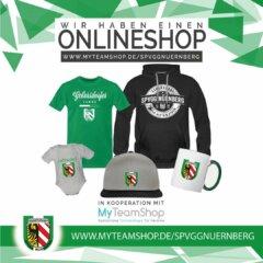 Seht ihr die Fahnen wehn? SpVgg Nürnberg eröffnet Online-Fanshop!