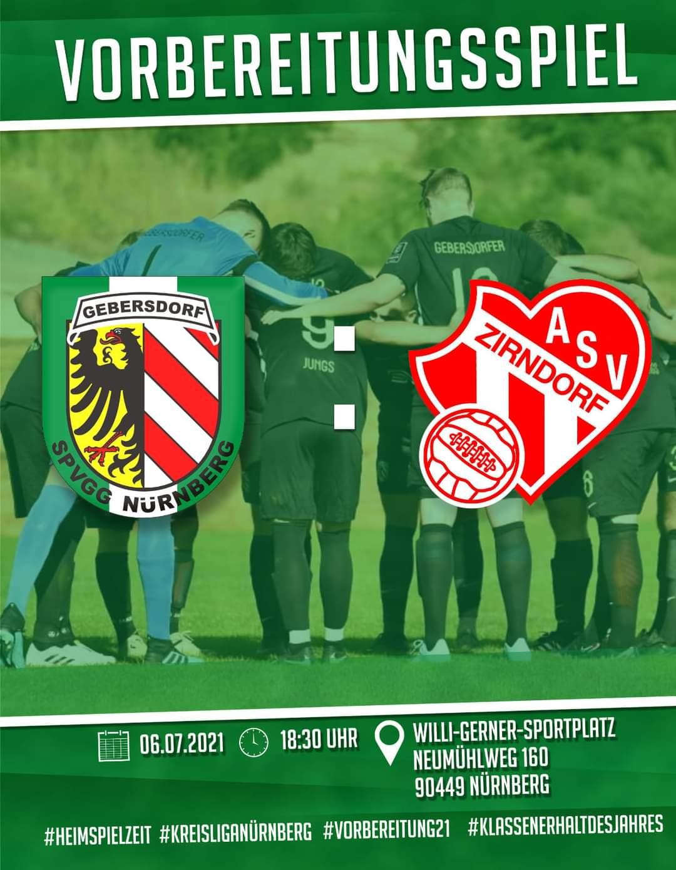 SpVgg Nürnberg – 1. Mannschaft vs ASV Zirndorf
