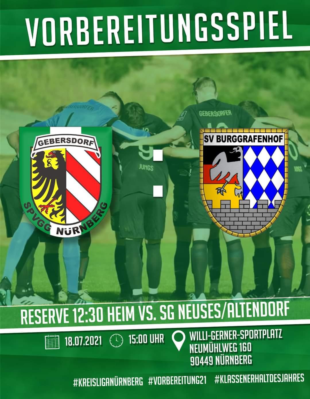 SpVgg Nürnberg – 1. Mannschaft vs SV Burggrafenhof
