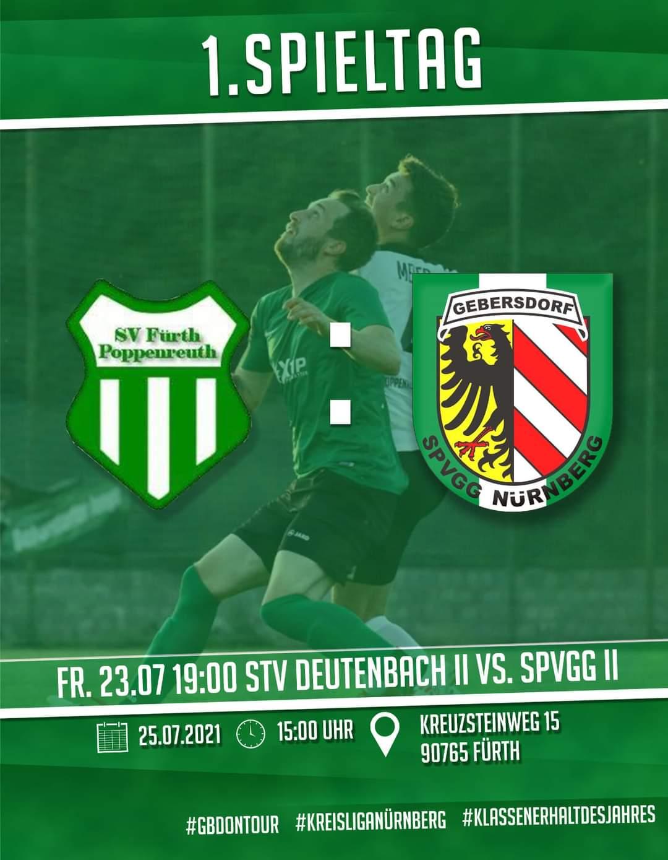 SV Poppenreuth vs SpVgg Nürnberg – 1. Mannschaft