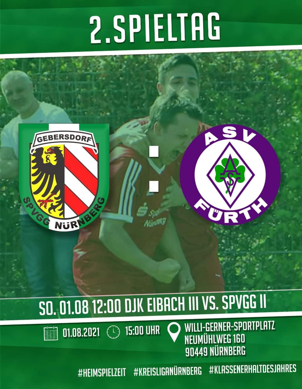 SpVgg Nürnberg – 1. Mannschaft vs ASV Fürth